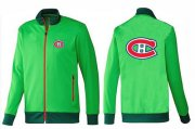 Wholesale NHL Montreal Canadiens Zip Jackets Green-1