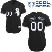 Wholesale Cheap White Sox Personalized Authentic Black MLB Jersey (S-3XL)