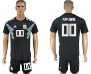 Wholesale Cheap Argentina Personalized Away Soccer Country Jersey