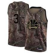 Wholesale Cheap Warriors #3 Jordan Poole Camo Basketball Swingman Realtree Collection Jersey