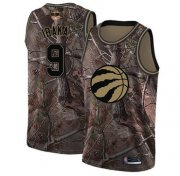 Wholesale Cheap Raptors #9 Serge Ibaka Camo 2019 Finals Bound Basketball Swingman Realtree Collection Jersey