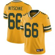 Wholesale Cheap Nike Packers #66 Ray Nitschke Yellow Men's Stitched NFL Limited Rush Jersey