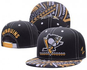 Wholesale Cheap NHL Pittsburgh Penguins Stitched Snapback Hats 004
