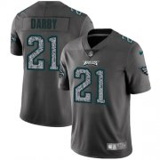 Wholesale Cheap Nike Eagles #21 Ronald Darby Gray Static Men's Stitched NFL Vapor Untouchable Limited Jersey