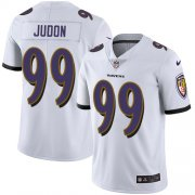 Wholesale Cheap Nike Ravens #99 Matthew Judon White Men's Stitched NFL Vapor Untouchable Limited Jersey