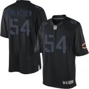 Wholesale Cheap Nike Bears #54 Brian Urlacher Black Men's Stitched NFL Impact Limited Jersey