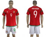 Wholesale Cheap Hungary #9 Paco Alcacer Home Soccer Country Jersey