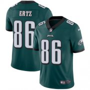 Wholesale Cheap Nike Eagles #86 Zach Ertz Midnight Green Team Color Men's Stitched NFL Vapor Untouchable Limited Jersey