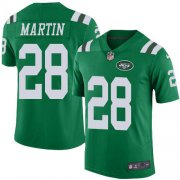 Wholesale Cheap Nike Jets #28 Curtis Martin Green Men's Stitched NFL Elite Rush Jersey