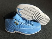 Wholesale Cheap Air Jordan 12 Retro Shoes UNC Blue/White