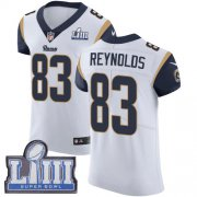 Wholesale Cheap Nike Rams #83 Josh Reynolds White Super Bowl LIII Bound Men's Stitched NFL Vapor Untouchable Elite Jersey