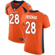 Wholesale Cheap Nike Broncos #28 Royce Freeman Orange Team Color Men's Stitched NFL Vapor Untouchable Elite Jersey