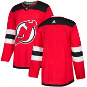 Wholesale Cheap Adidas Devils Blank Red Authentic Stitched NHL Jersey