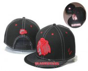 Wholesale Cheap Chicago Blackhawks Snapback Ajustable Cap Hat GS 1