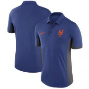 Wholesale Cheap Men's New York Mets Nike Royal Franchise Polo