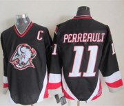 Wholesale Cheap Sabres #11 Gilbert Perreault Black CCM Throwback Stitched NHL Jersey