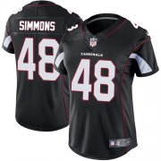 Wholesale Cheap Nike Cardinals #48 Isaiah Simmons Black Alternate Women's Stitched NFL Vapor Untouchable Limited Jersey