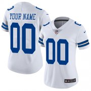 Wholesale Cheap Nike Dallas Cowboys Customized White Stitched Vapor Untouchable Limited Women's NFL Jersey