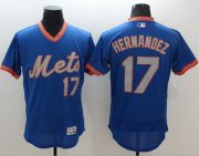 Wholesale Cheap Mets #17 Keith Hernandez Royal/Gray Flexbase Authentic Collection Cooperstown Stitched MLB Jersey
