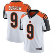 Wholesale Cheap Nike Bengals #9 Joe Burrow White Men's Stitched NFL Vapor Untouchable Limited Jersey