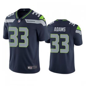 Wholesale Cheap Seattle Seahawks #33 Jamal Adams Men\'s Nike Navy Vapor Untouchable Limited Stitched NFL Jersey