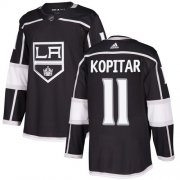 Wholesale Cheap Adidas Kings #11 Anze Kopitar Black Home Authentic Stitched Youth NHL Jersey