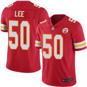 Wholesale Cheap Nike Chiefs #50 Darron Lee Red Team Color Men's Stitched NFL Vapor Untouchable Limited Jersey