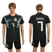 Wholesale Cheap Argentina #7 Icardi Away Soccer Country Jersey