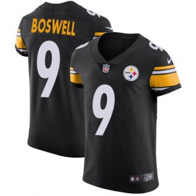 Wholesale Cheap Nike Steelers #9 Chris Boswell Black Team Color Men\'s Stitched NFL Vapor Untouchable Elite Jersey