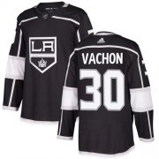 Wholesale Cheap Adidas Kings #30 Rogie Vachon Black Home Authentic Stitched NHL Jersey