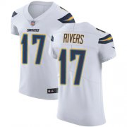 Wholesale Cheap Nike Chargers #17 Philip Rivers White Men's Stitched NFL Vapor Untouchable Elite Jersey