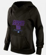 Wholesale Cheap Women's New York Giants Big & Tall Critical Victory Pullover Hoodie Black