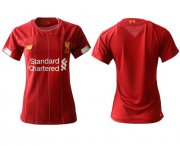 Wholesale Cheap Women's Liverpool Blank Red Home Soccer Club Jersey