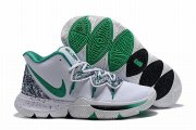 Wholesale Cheap Nike Kyire 5 Women White Green-logo