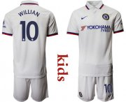 Wholesale Cheap Chelsea #10 Willian Away Kid Soccer Club Jersey