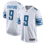 Wholesale Cheap Nike Lions #9 Matthew Stafford White Youth Stitched NFL Elite Jersey