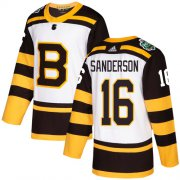 Wholesale Cheap Adidas Bruins #16 Derek Sanderson White Authentic 2019 Winter Classic Stitched NHL Jersey
