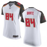 Wholesale Cheap Nike Buccaneers #84 Cameron Brate White Women's Stitched NFL New Elite Jersey