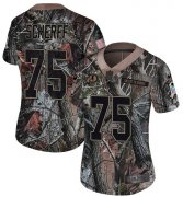 Wholesale Cheap Nike Redskins #75 Brandon Scherff Camo Women's Stitched NFL Limited Rush Realtree Jersey