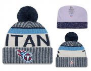 Wholesale Cheap NFL Tennessee Titans Logo Stitched Knit Beanies 002