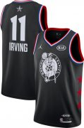 Wholesale Cheap Jordan Men's 2019 NBA All-Star Game #11 Kyrie Irving Black Dri-FIT Swingman Jersey