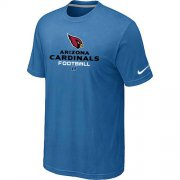 Wholesale Cheap Nike Arizona Cardinals Critical Victory NFL T-Shirt Light Blue