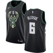 Cheap Youth Milwaukee Bucks #6 Eric Bledsoe Black Basketball Swingman Statement Edition Jersey