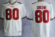 Wholesale Cheap Florida State Seminoles #80 Rashad Greene 2013 White Jersey