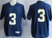 Wholesale Cheap Notre Dame Fighting Irish #3 Joe Montana 2013 Navy Blue Jersey