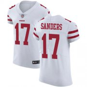 Wholesale Cheap Nike 49ers #17 Emmanuel Sanders White Men's Stitched NFL Vapor Untouchable Elite Jersey