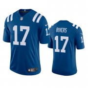 Wholesale Cheap Indianapolis Colts #17 Philip Rivers Men's Nike Royal 2020 Vapor Limited Jersey