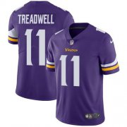 Wholesale Cheap Nike Vikings #11 Laquon Treadwell Purple Team Color Youth Stitched NFL Vapor Untouchable Limited Jersey