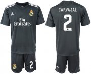 Wholesale Cheap Real Madrid #2 Carvajal Away Soccer Club Jersey
