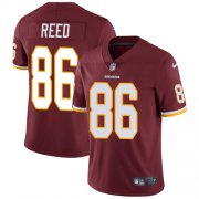 Wholesale Cheap Nike Redskins #86 Jordan Reed Burgundy Red Team Color Youth Stitched NFL Vapor Untouchable Limited Jersey
